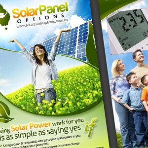 Winning Product packaging entry for Solar Panel Options