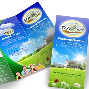 Winning Product packaging entry for Ra-flect Radient Barrier