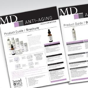 Winning Product packaging entry for brandMD