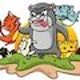 Runner up Illustration & Graphics entry for Robofruit Games