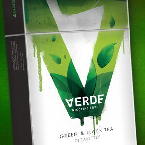 Winning Product packaging entry for Verde