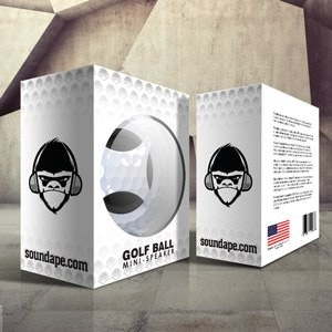 Winning Product packaging entry for Soundape