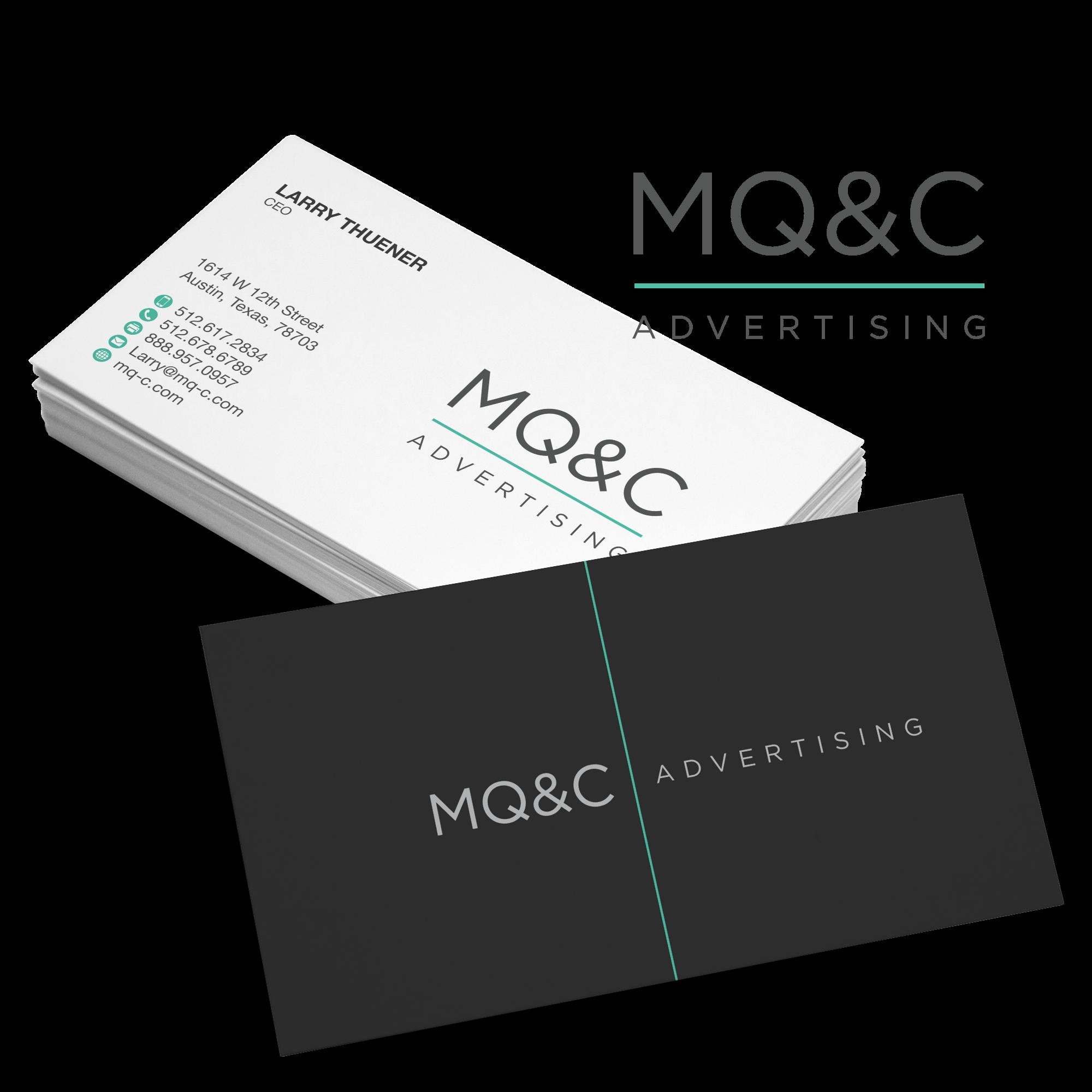 how to design a business card logo