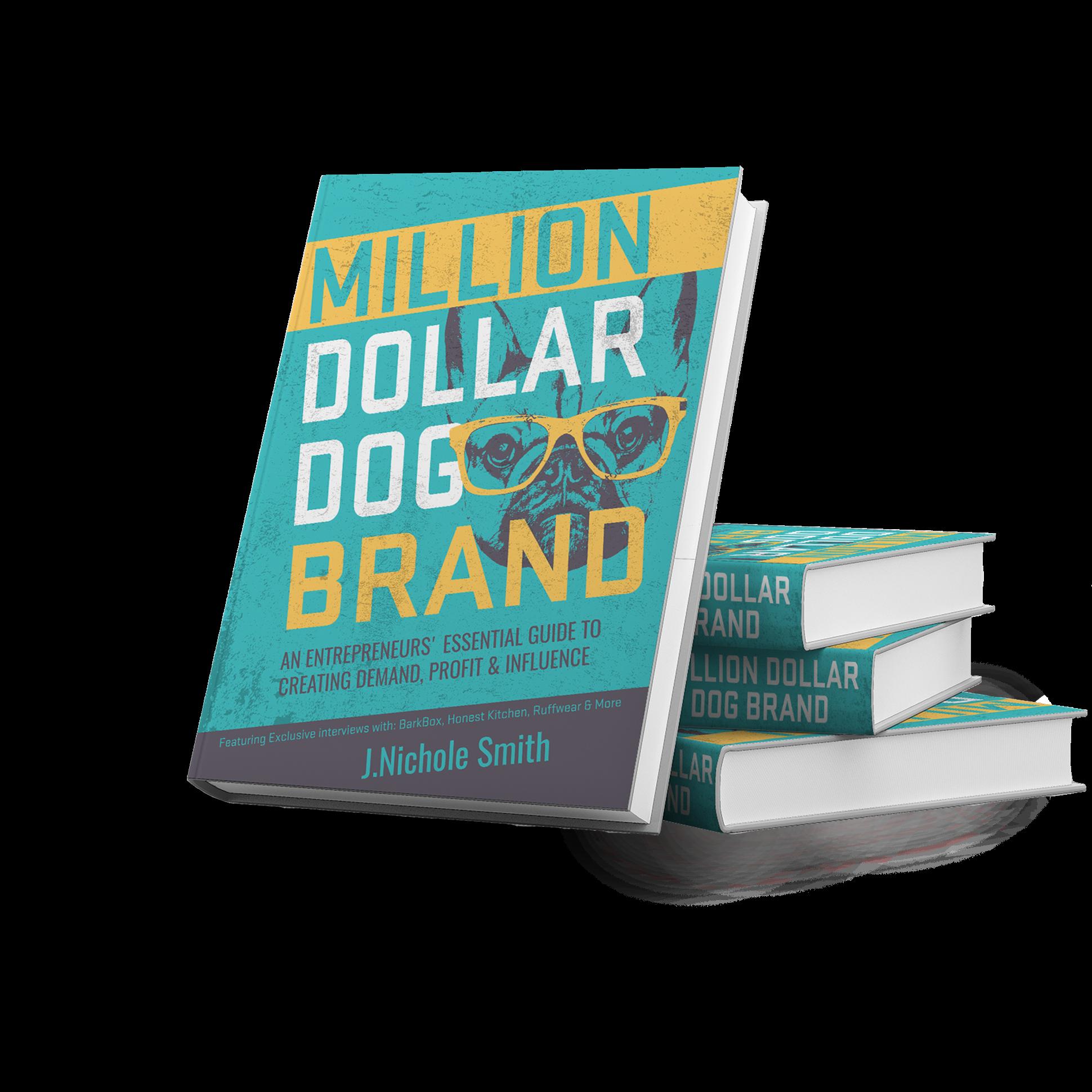 Million Dollar Dog Brand book design
