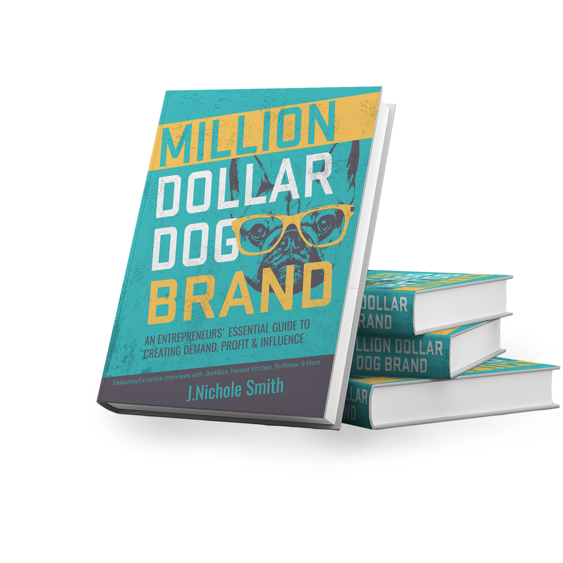 Million Dollar Dog Brand book design