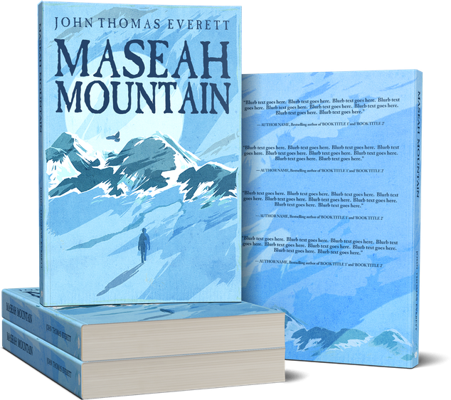 Book cover created for Maseah Mountain