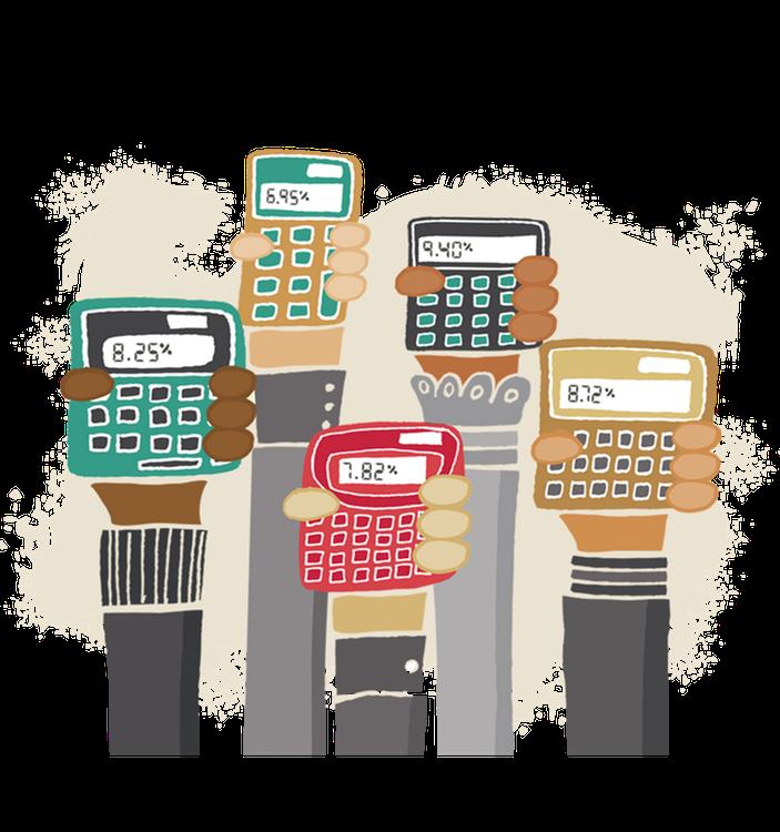 Sales tax calculators