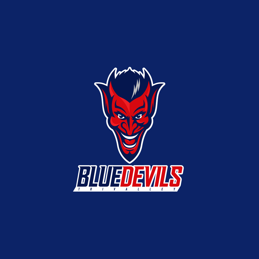 Sports Logos 50 Logo Designs For Your Active Style 99designs Mustang Drawings Blue Devils
