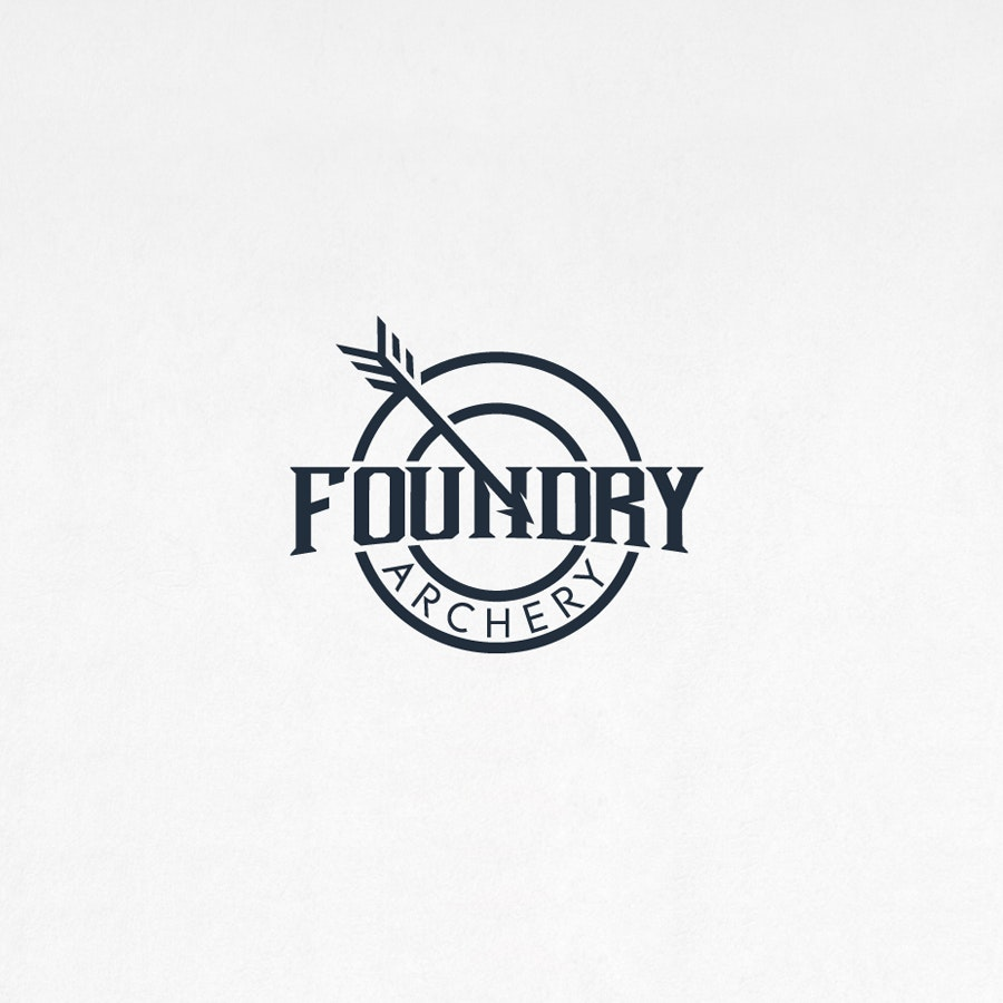 Foundry Archery sports logo