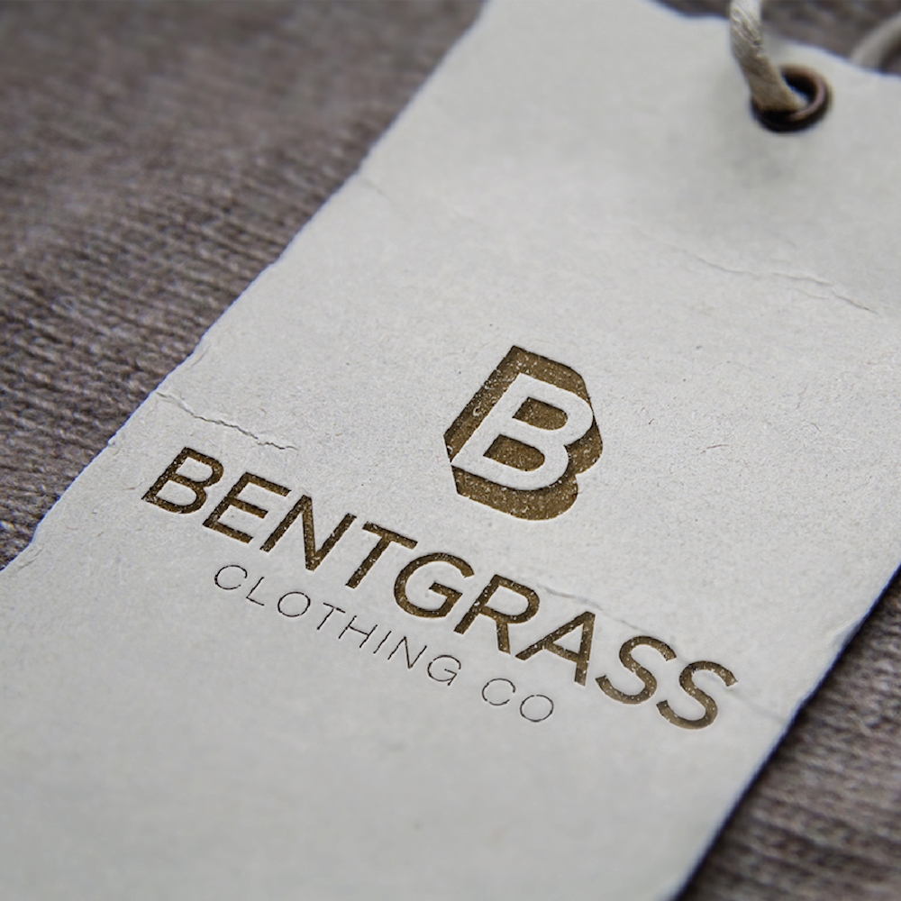 Bentgrass fashion logo