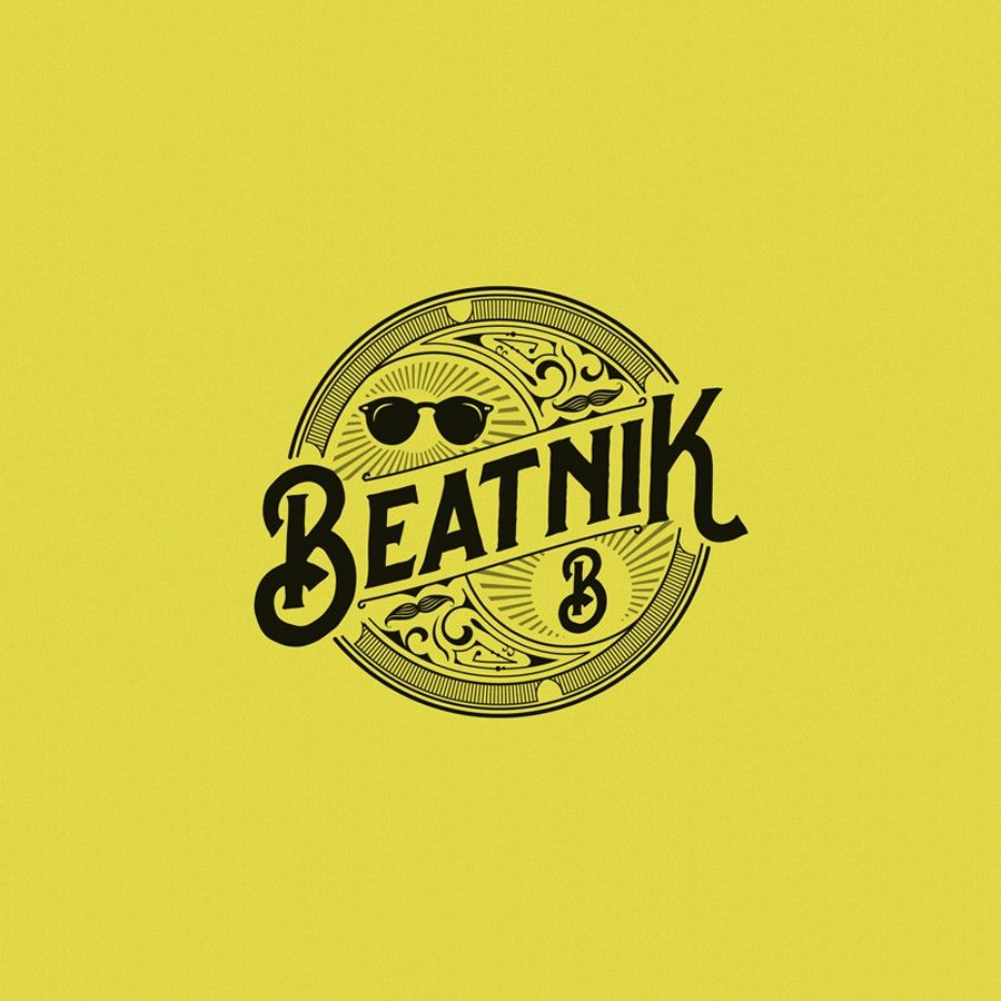 Beatnik fashion logo