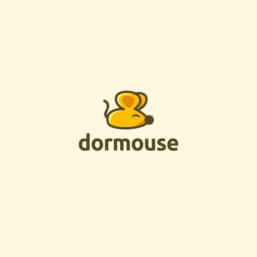 Dormouse fashion logo