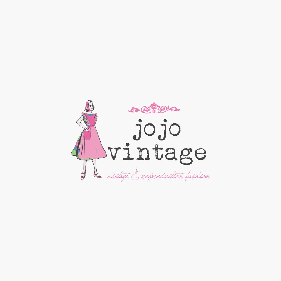 Jojo vintage fashion logo