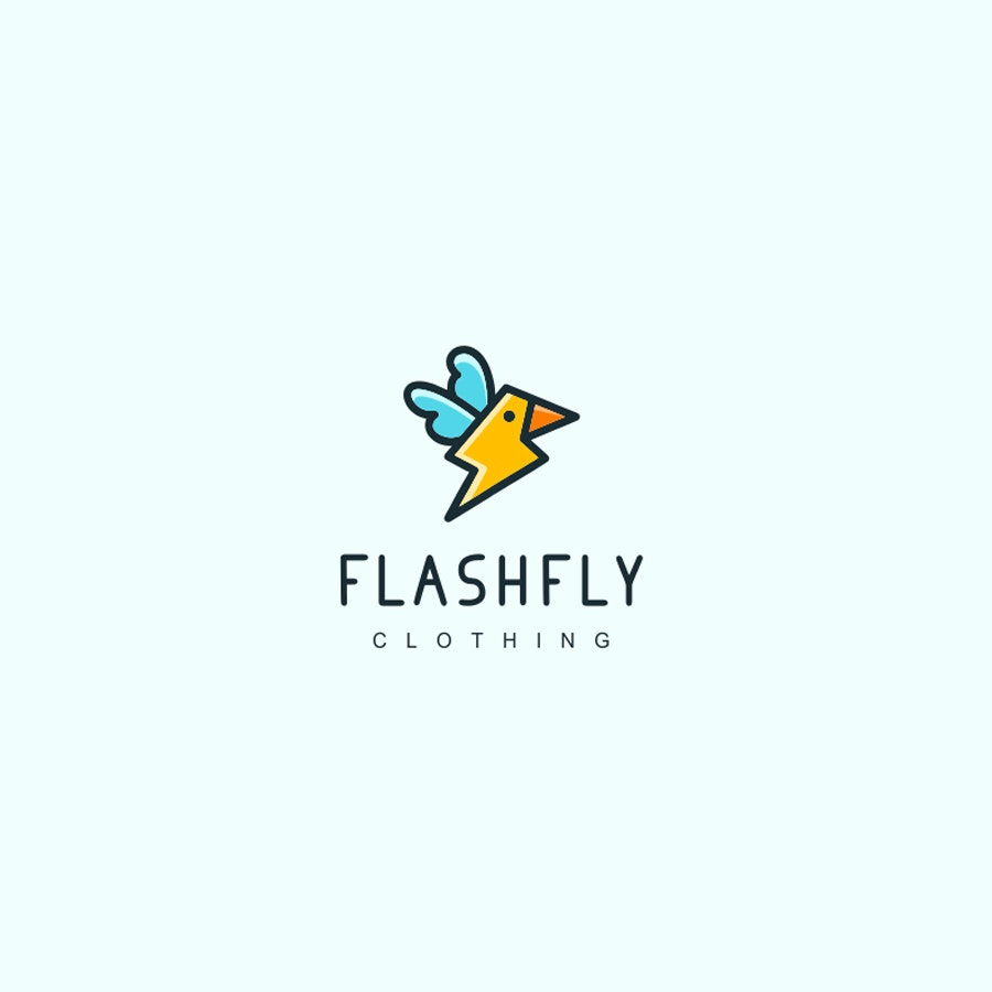Flashfly fashion logo