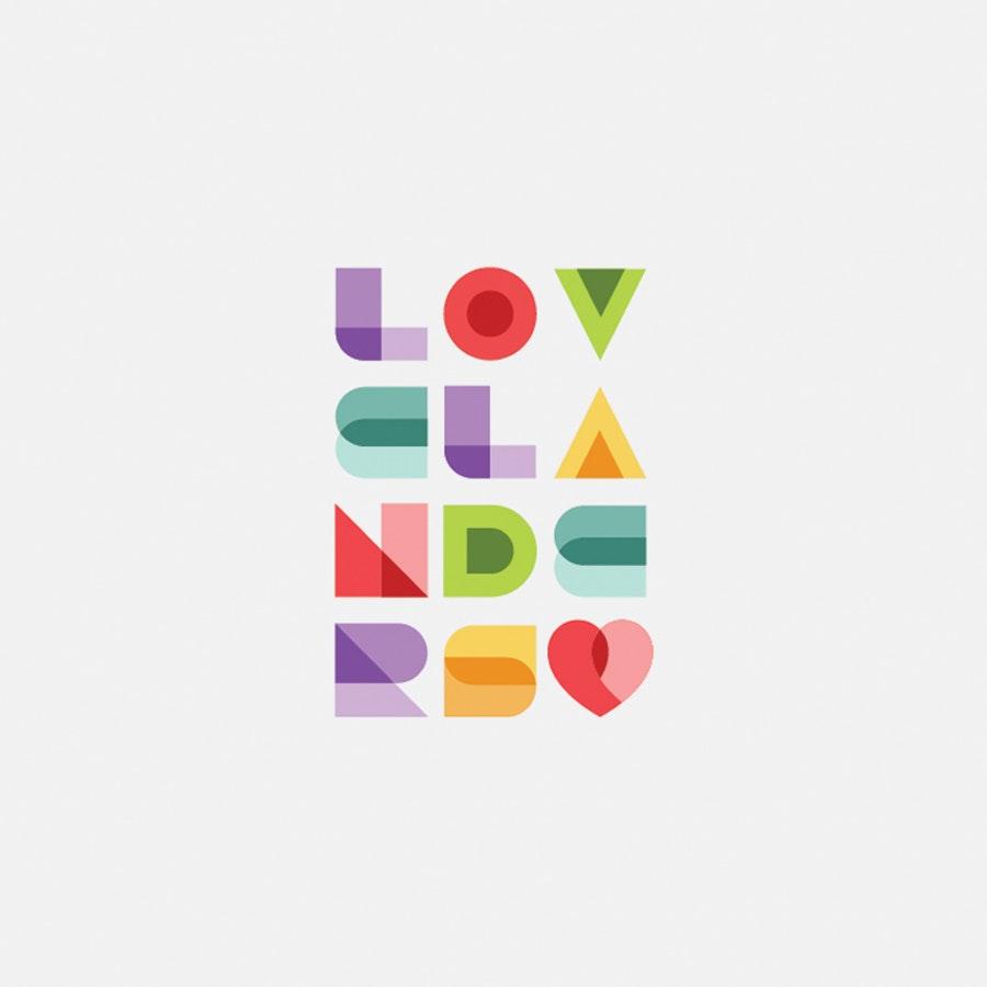 Lovelanders fashion logo