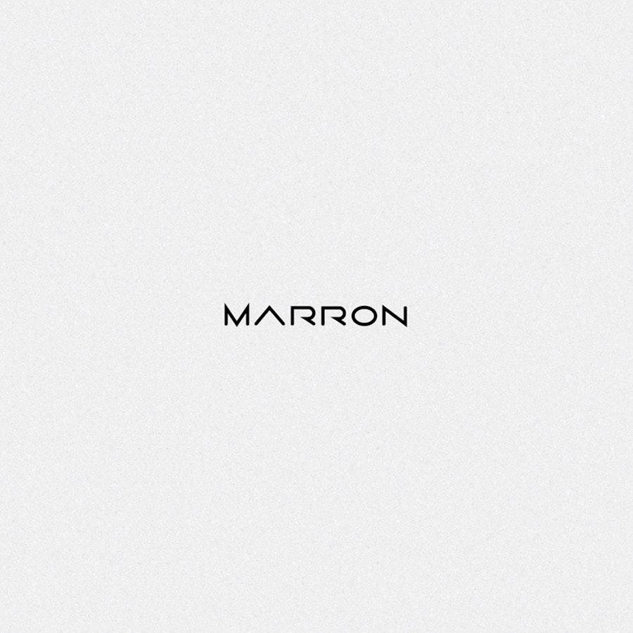 Marron fashion logo