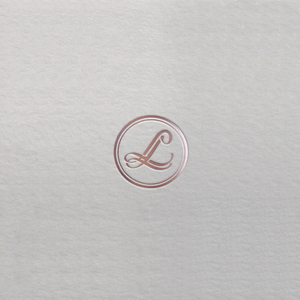 LL luxury fashion logo