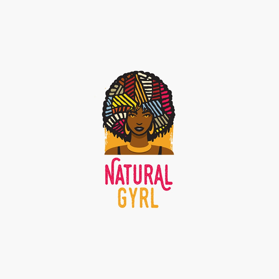 Natural Gyrl fashion logo