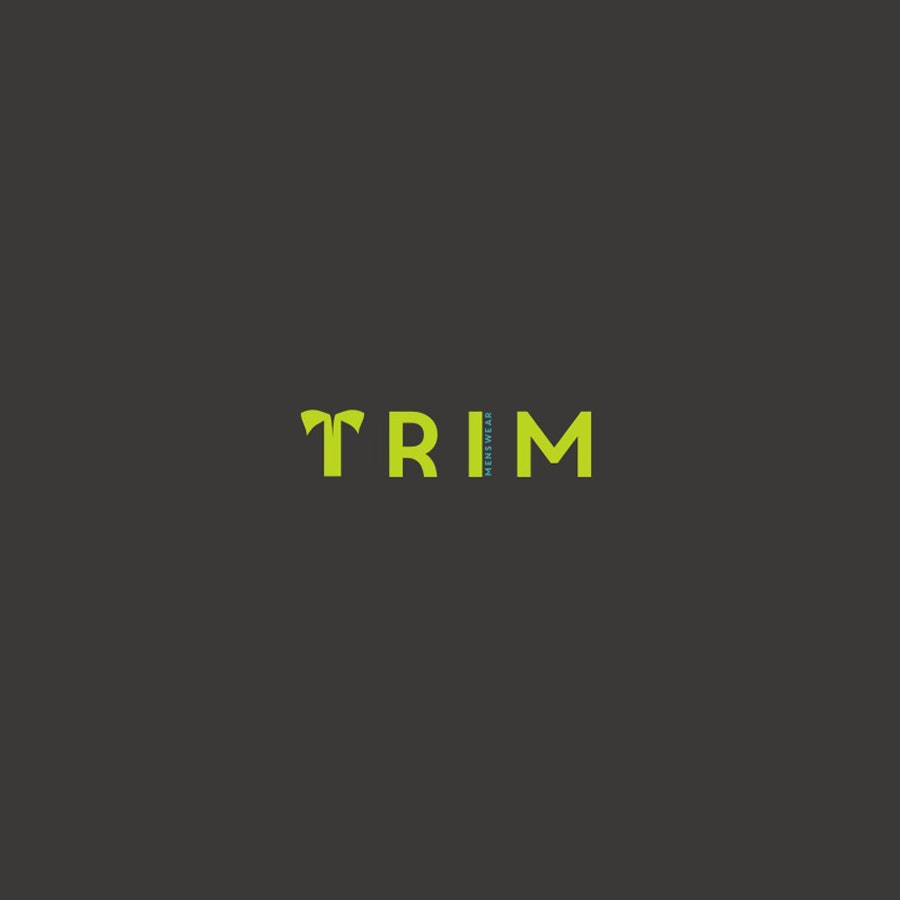 Trim fashion logo