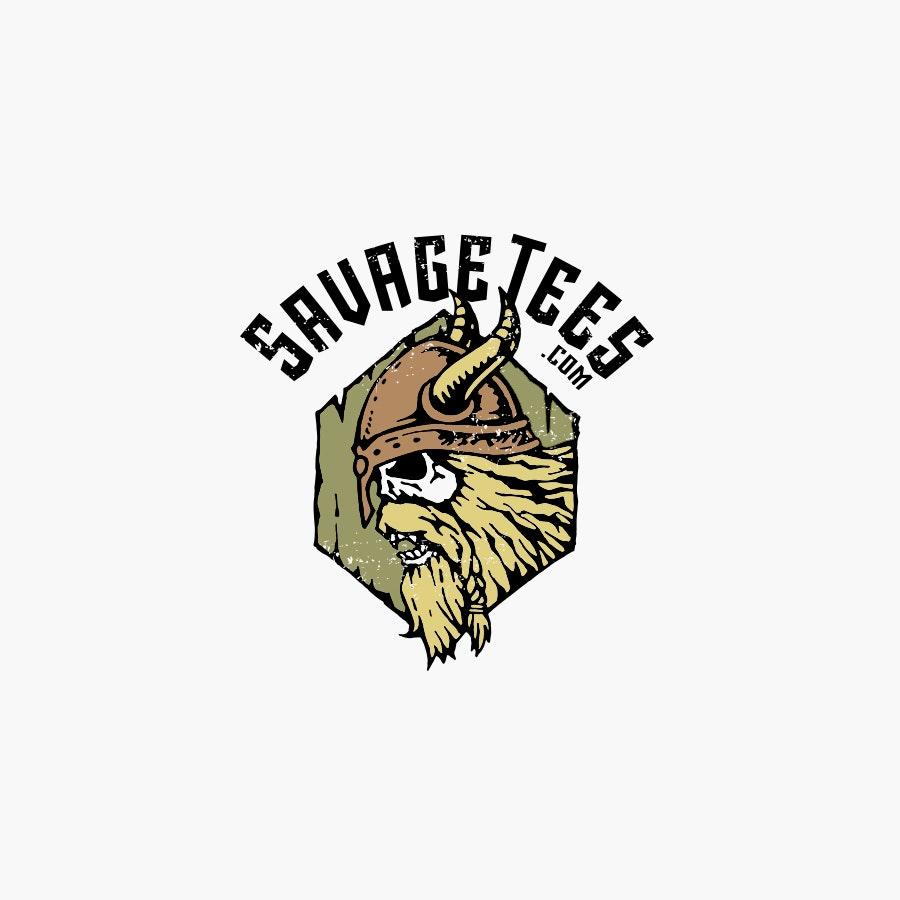 Savage Tees fashion logo