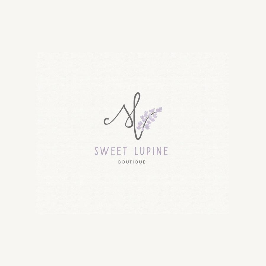 Sweer Lupine fashion logo