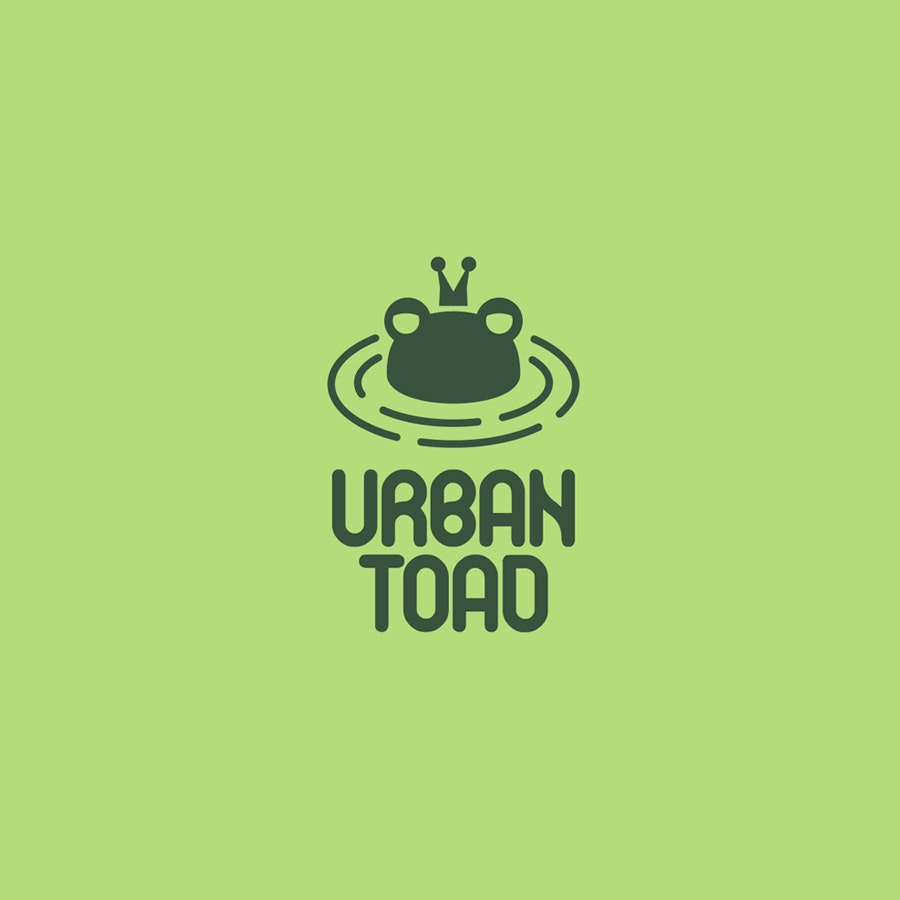 Urban Toad fashion logo