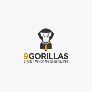 9 Gorillas business logo