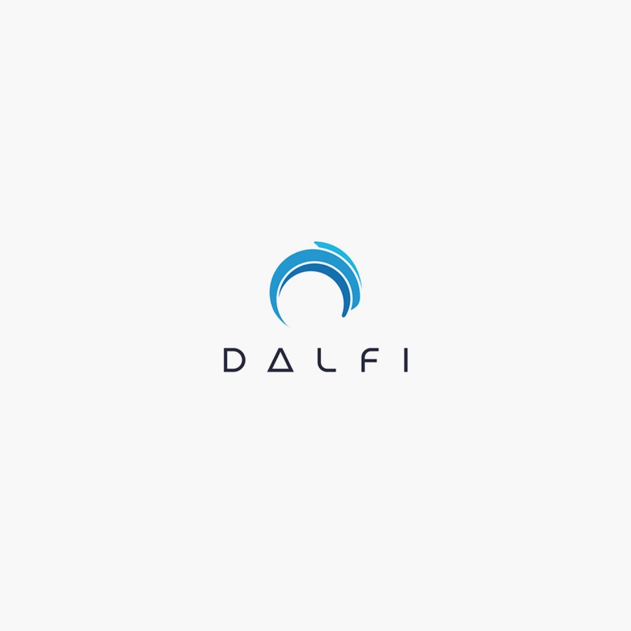 Dalfi business logo design