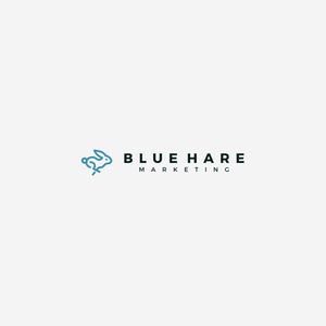 Bluehare Marketing logo design