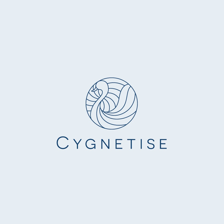 Cygnetise business logo design