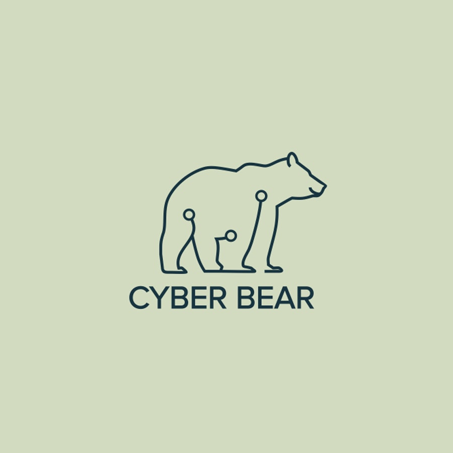 Cyber Bear business logo