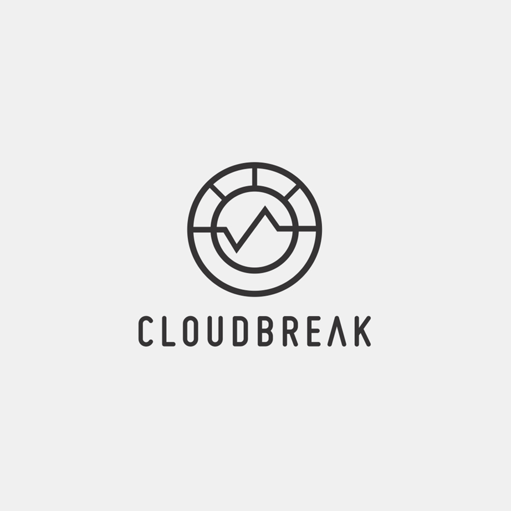 Cloudbreak photography logo