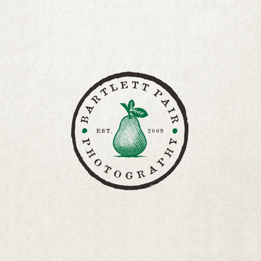 Bartlett Pair photography logo design