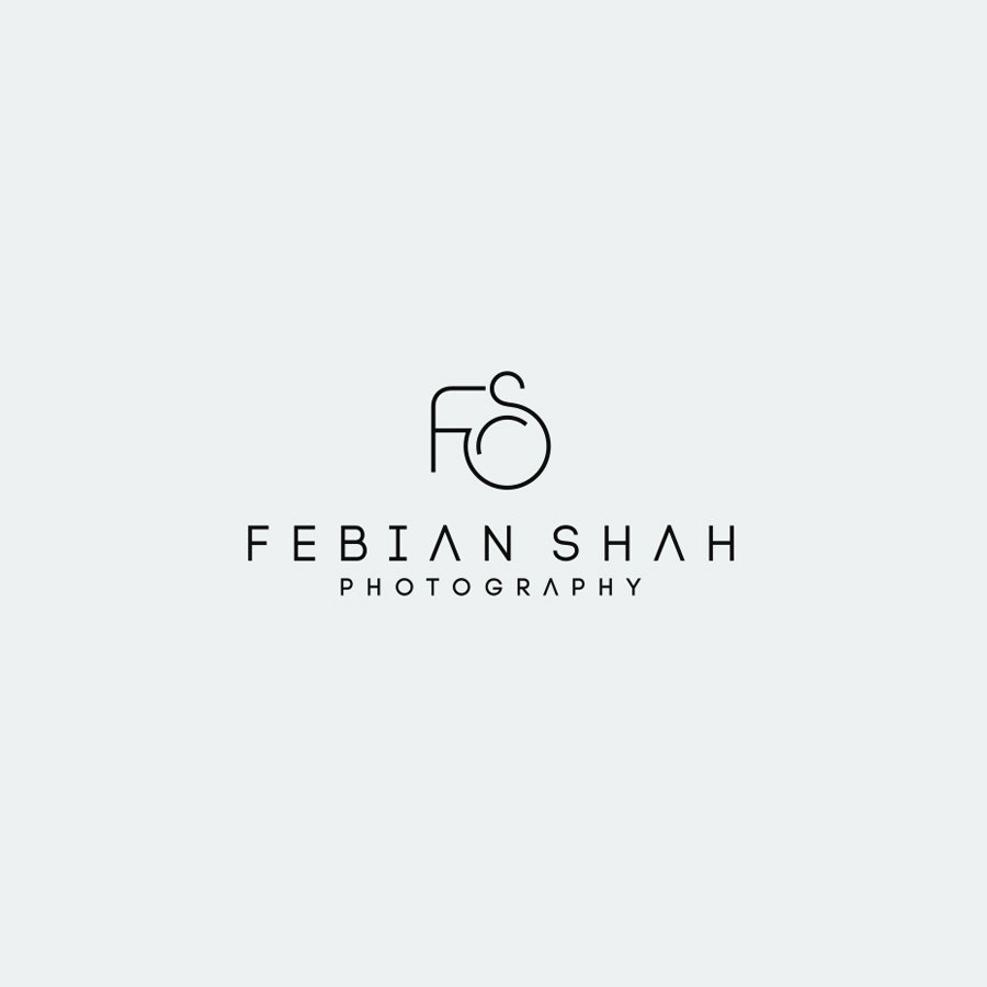 Febian Shah photography logo design