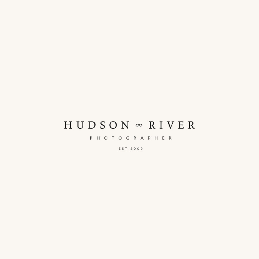 Hudson River photography logo