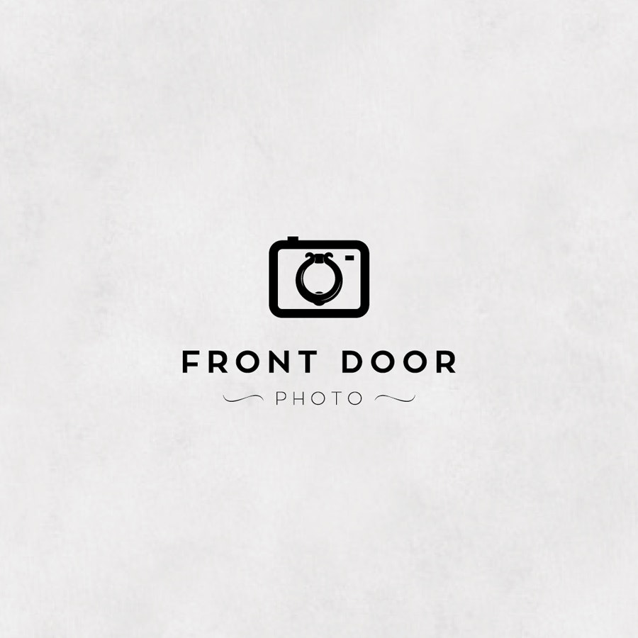 Front Door photography logo