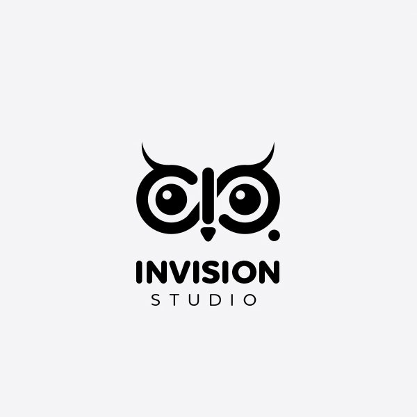 Invision Studio photography logo