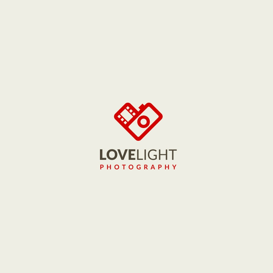 Love Light photography logo