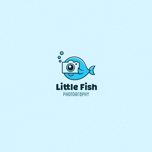 Little Fish photography logo