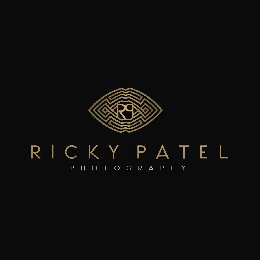 Ricky Patel photography logo design
