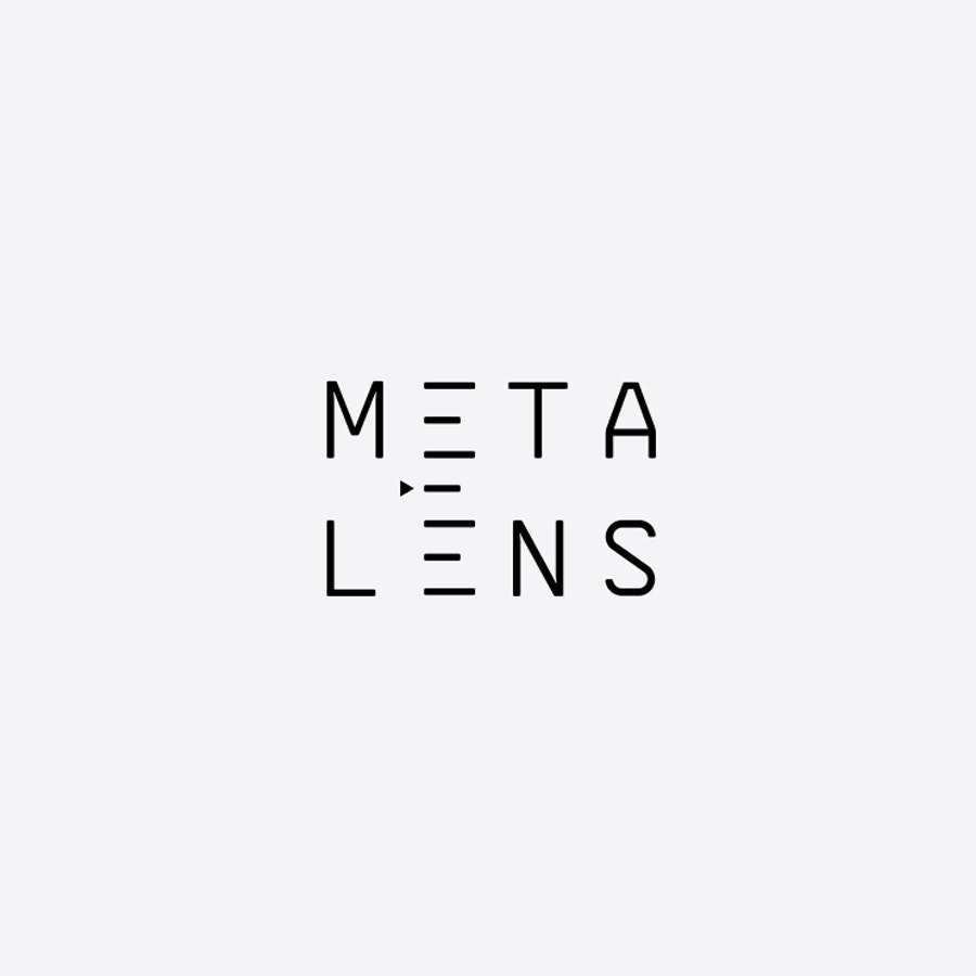 Metalens photography logo