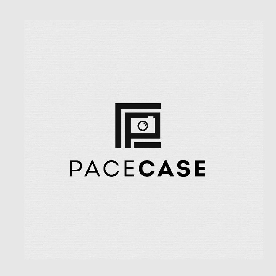 Pacecase photography logo design