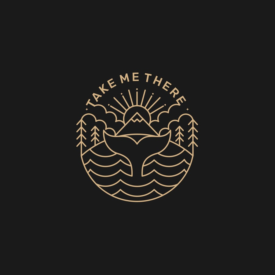 Take Me Three photography logo