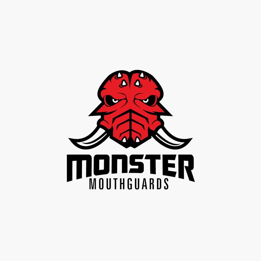 Monster Mouthguards logo design