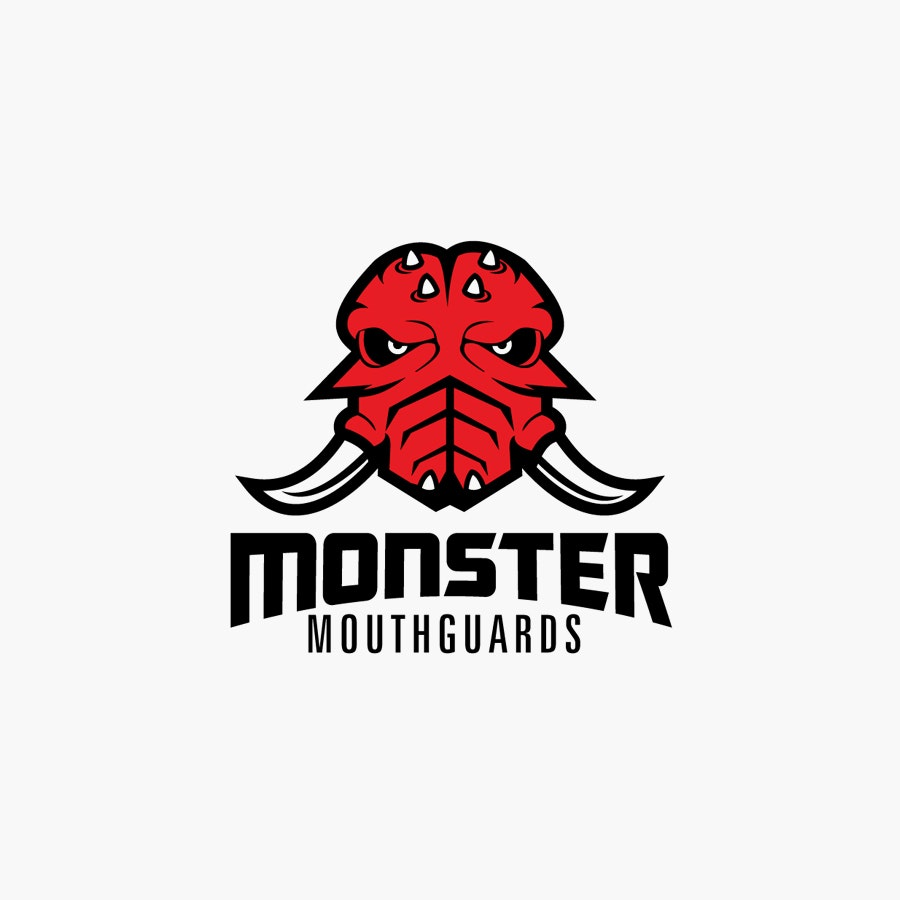 Monster Mouthguards logo design