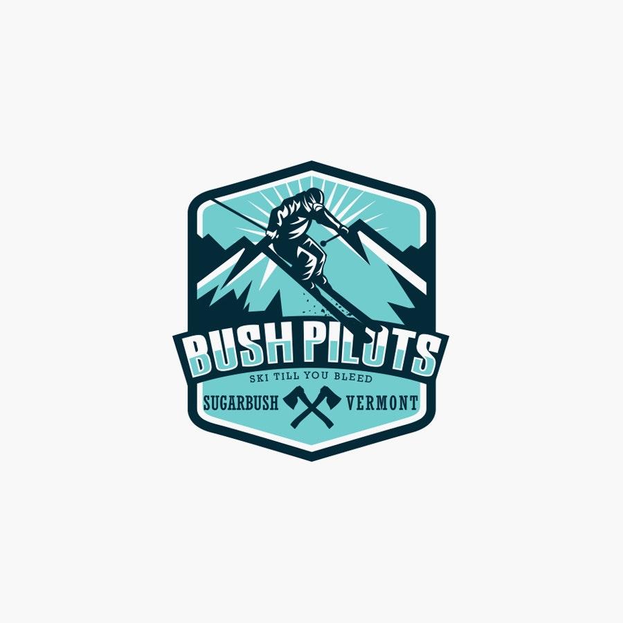 Bush Pilot sports logo