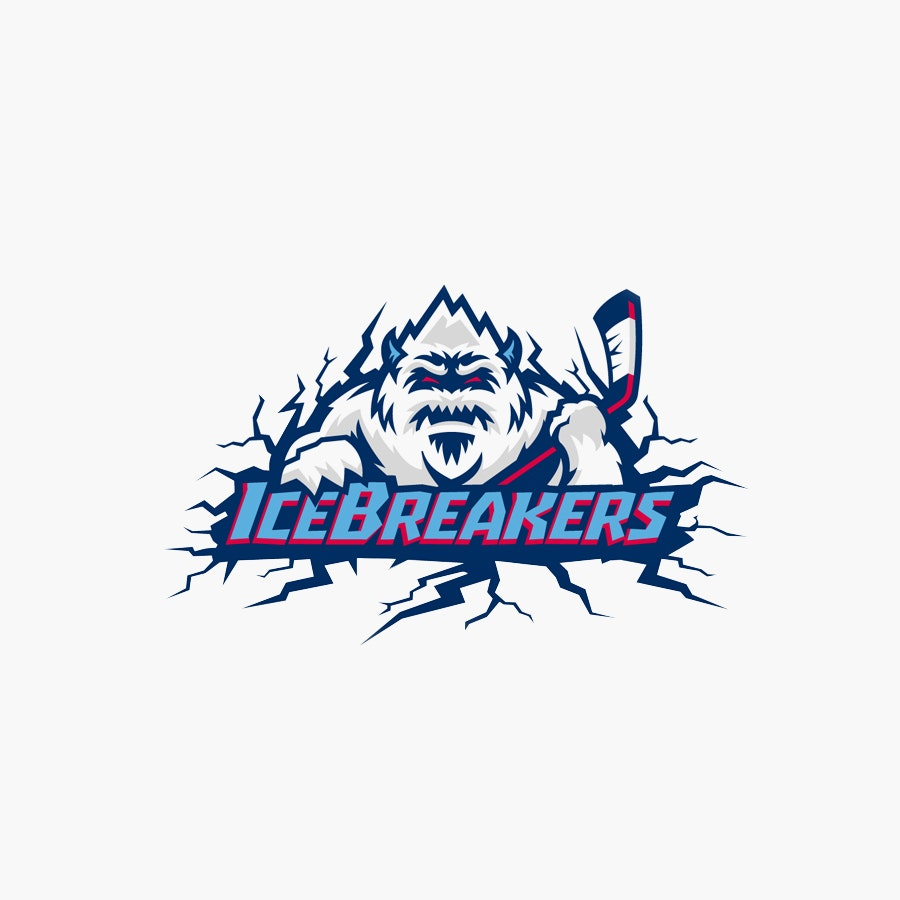 Icebreakers hockey logo