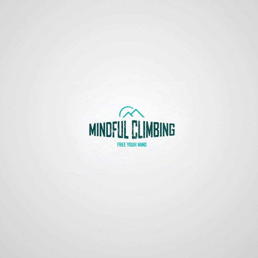 Mindful Climbing logo design