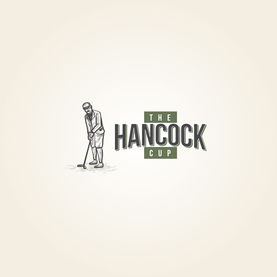 Hancock Cup Golf Tournement logo