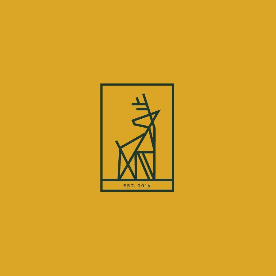Daring Deer sports logo